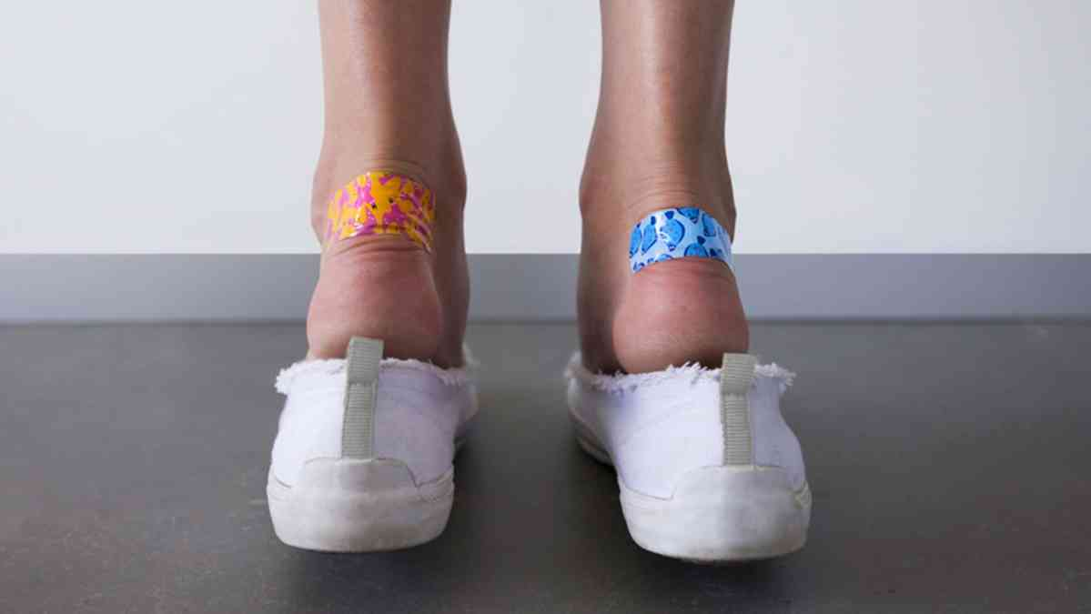 How to break in shoes that rub your heel
