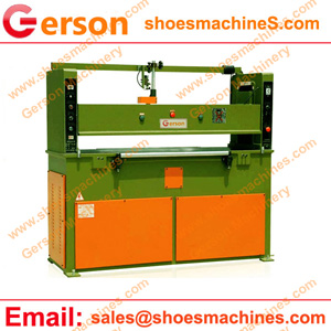 leather shoes die cutting machine