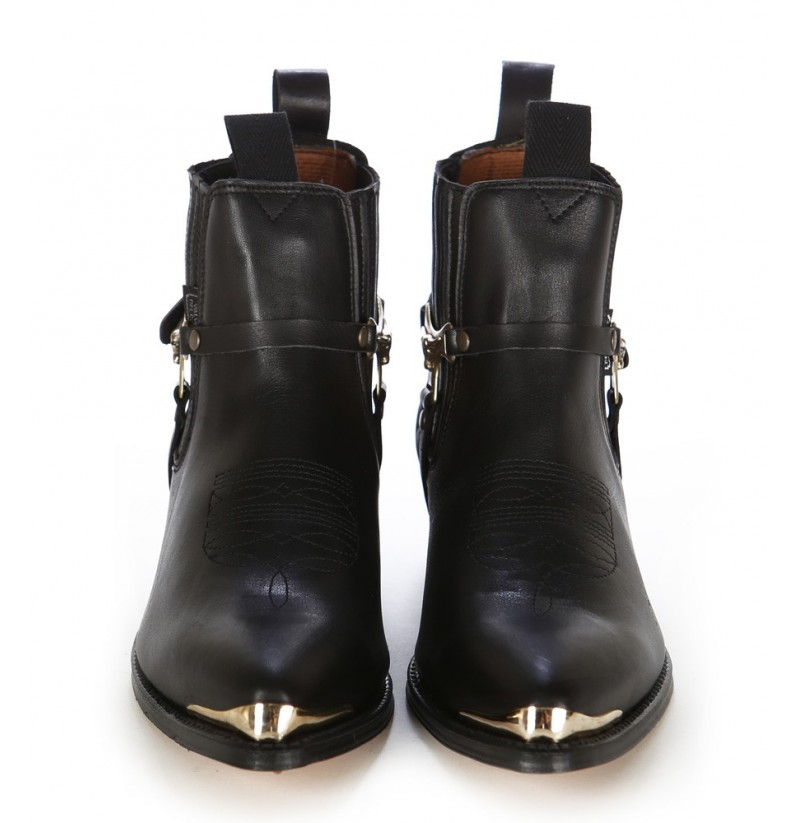Image result for boots with a piece of metal on the tip
