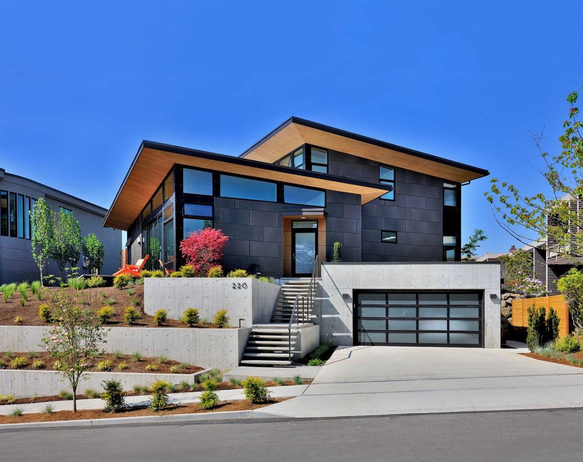 Single-Family, Custom Home Design, Mid-Century Modern ...
