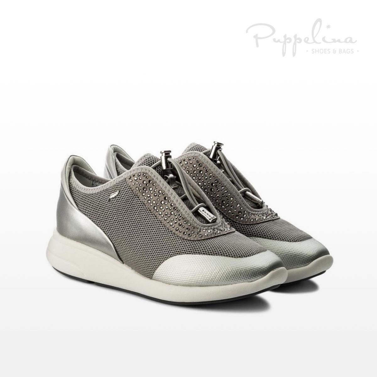 puppelina geox sneaker silver