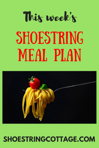 back to meal planning