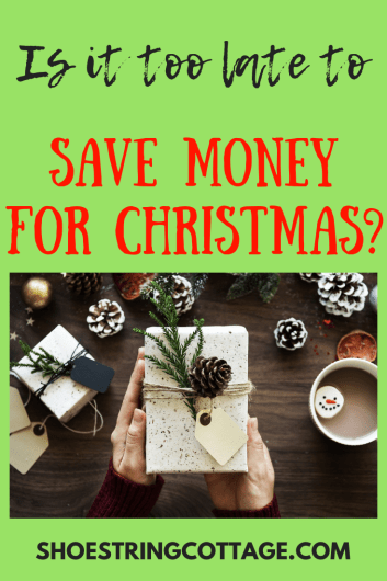 save money for Christmas