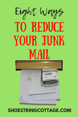 reduce your junk mail