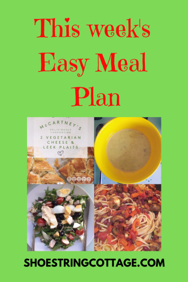 easy meal plan