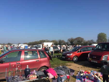 back to the boot sale