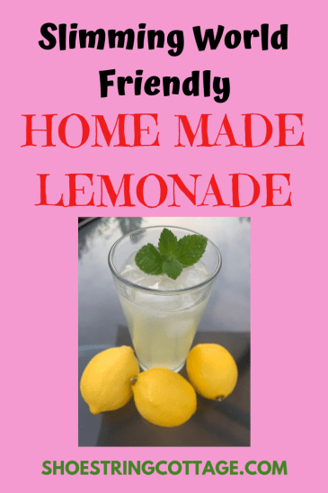 Slimming World lemonade