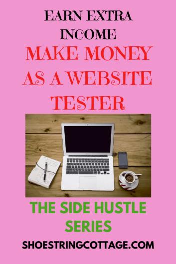 make money as a website tester