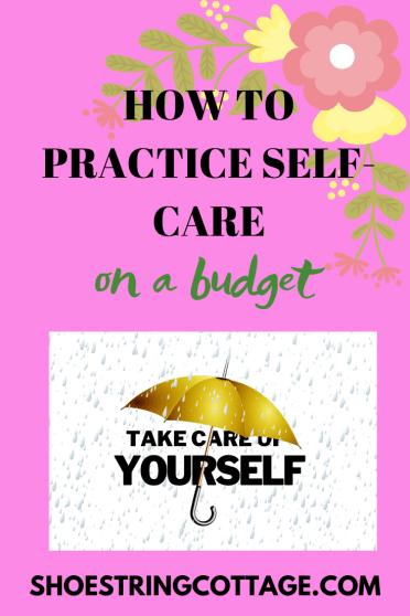 self-care on a budget