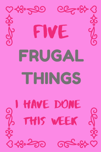 Frugal Friday round up