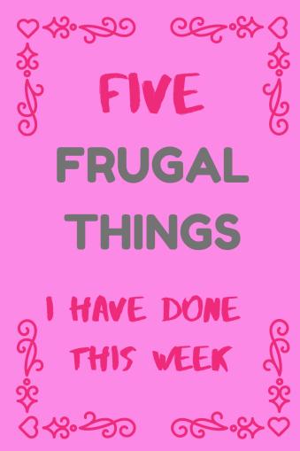 Frugal round up