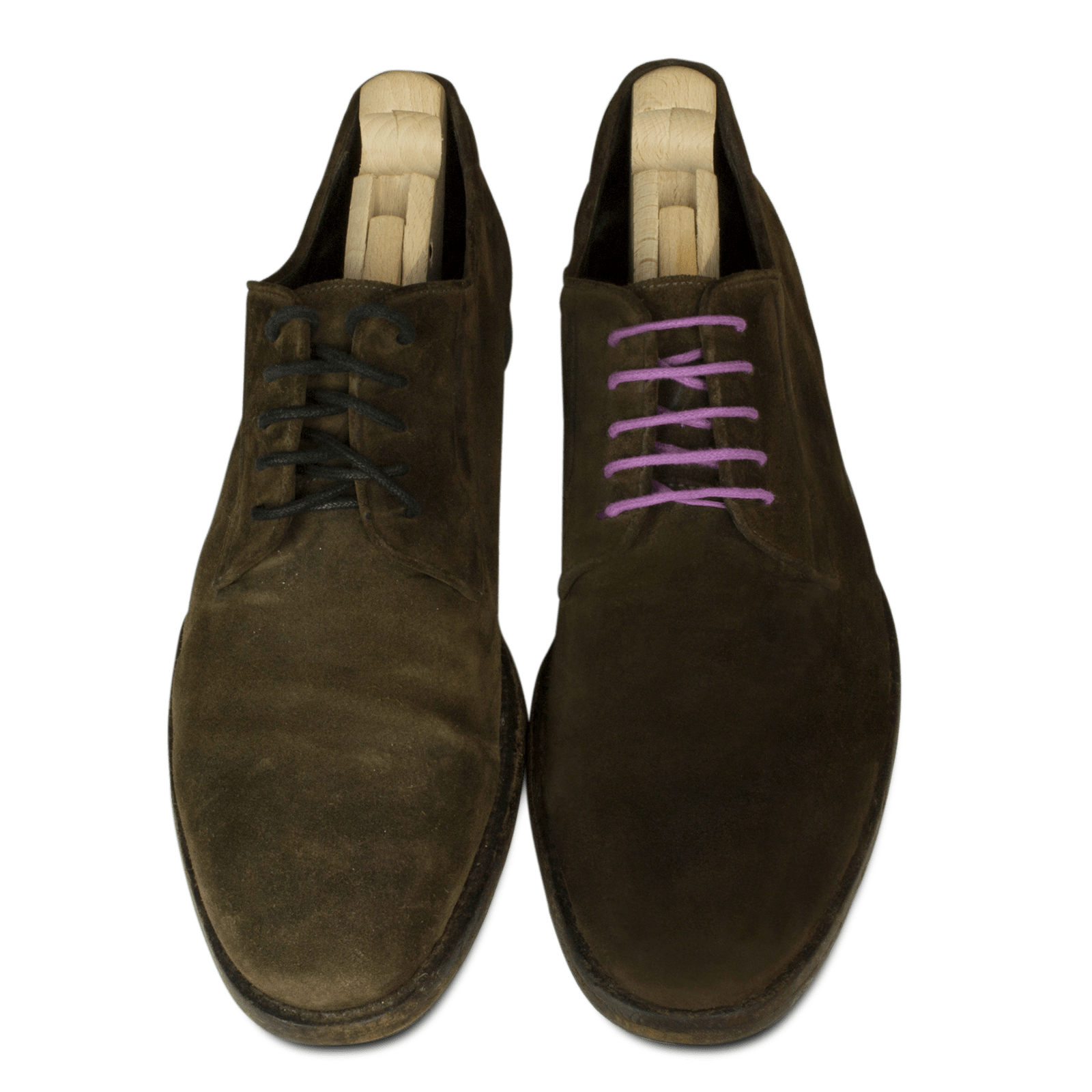 How to restore suede shoes using woly