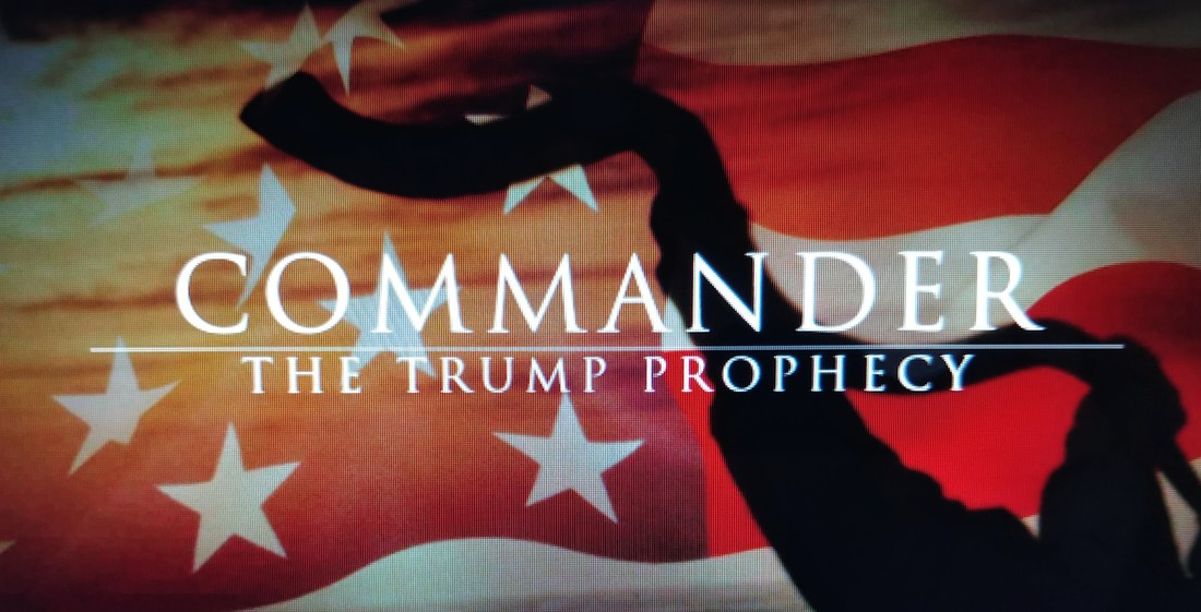 Image result for the trump prophecy movie shofar