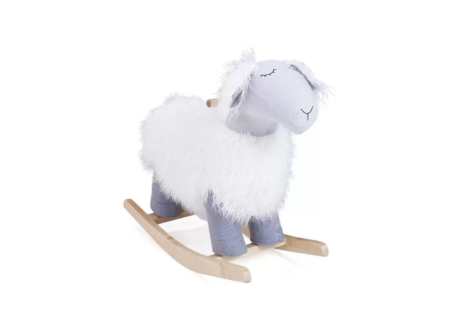 rocking chair mouton a bascule