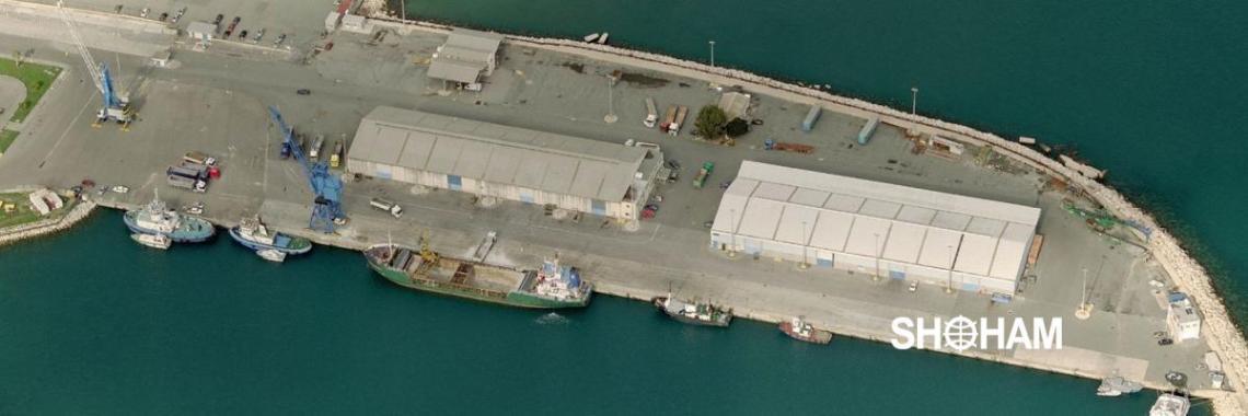 Larnaca port North quay