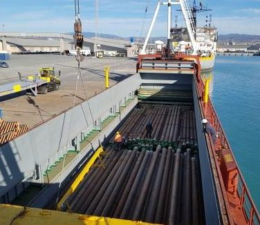 shipping of oil & gas equipment
