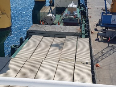 chartering of vessel from limassol to saudi arabia