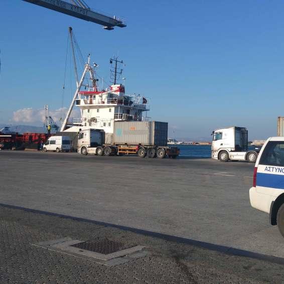 Hazardous cargo loading Limassol Cyprus