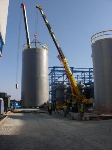 Vassilikos Cyprus desalination project logistics