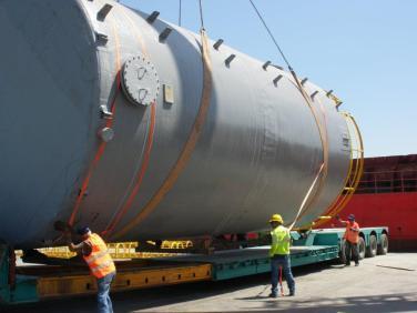 Vassilikos Cyprus desalination project logistics (8)