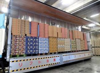 日清食品 サントリーホールディングス 共同配送 北海道帯広エリア