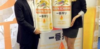山形光晴マーケティング部長㊧(キリンビール)