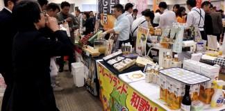わかやま産品商談会ケース大阪