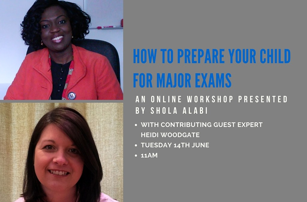 (Video Replay) How to Prepare Your Child for Major Exams