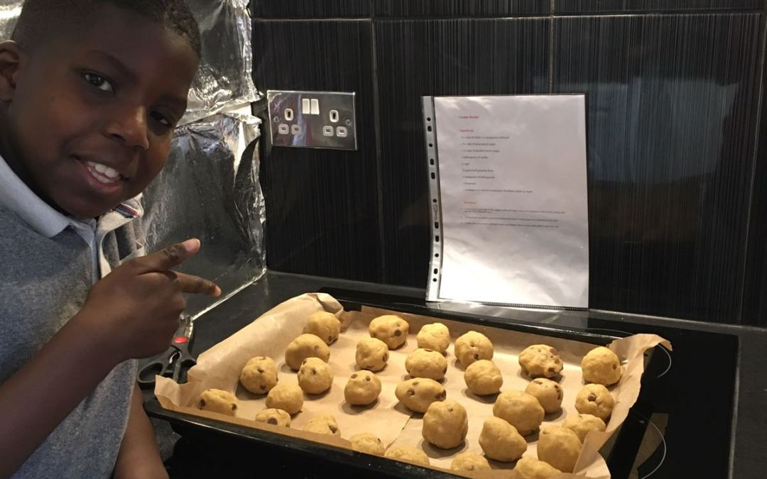 Connect with your children – Bake together (Chocolate Chip Cookies Recipe)