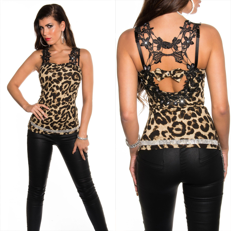 0e4e9c9153 KouCla party top with strass - Sholox Online Womens Store - Trendy ...