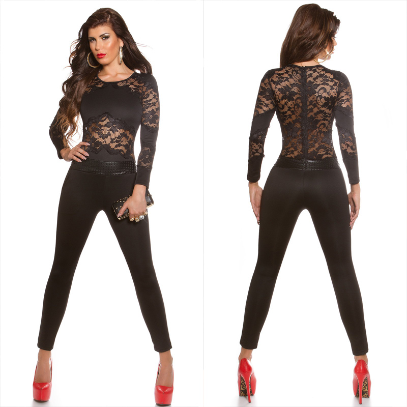 9c80606a500b Sexy KouCla jumpsuit Black - Sexy clothing from fashion brand