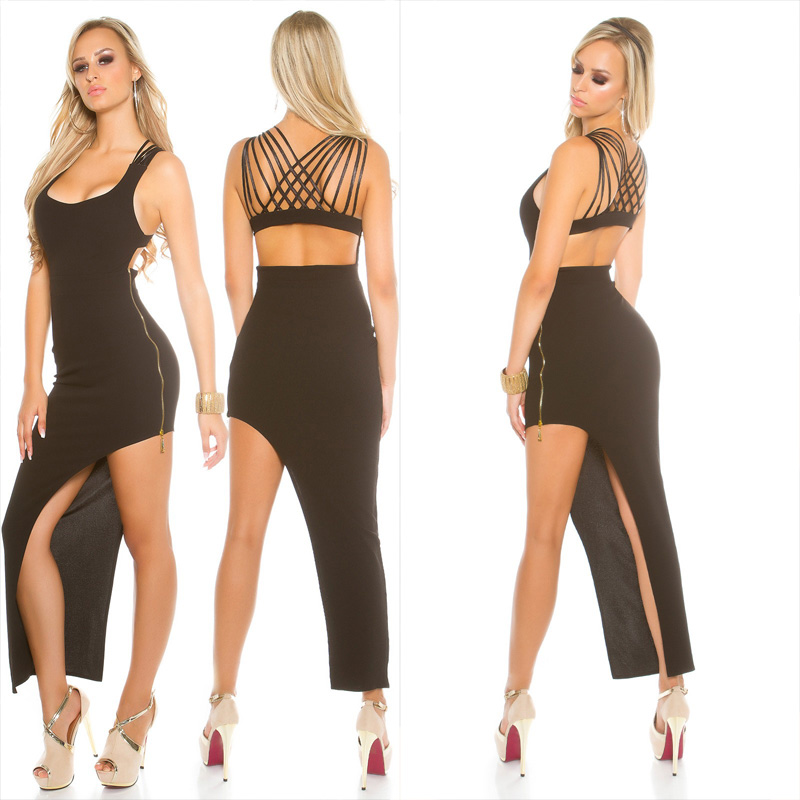 5846d0f45e KouCla asymmetrical dress - Sexy womens clothes