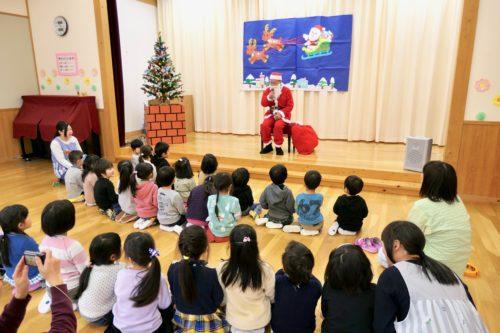 サンタさんの挨拶