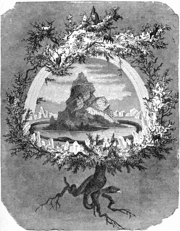 নর্স পুরাণের কেন্দ্রীয় মহাজাগতিক বৃক্ষ ইগড্রাজেল