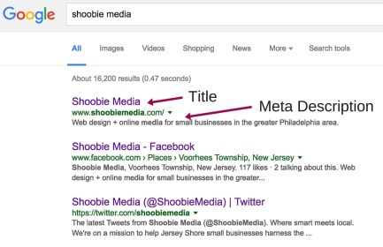 shoobie media search result