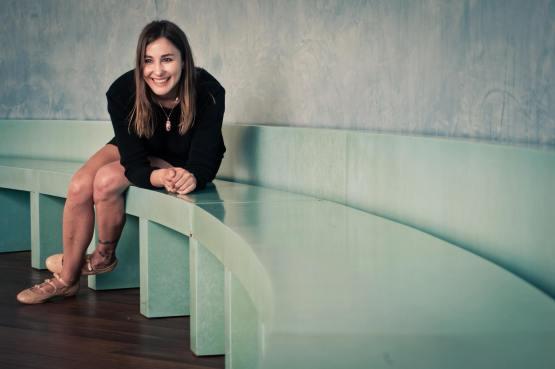 Isabel Fernández, en una imagen promocional para Un Rayo Ultravioleta