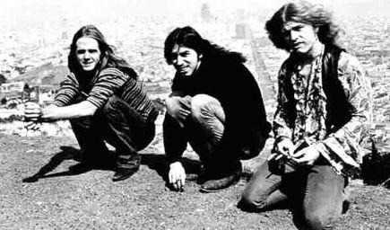 Otra imagen de la banda, en su momento álgido