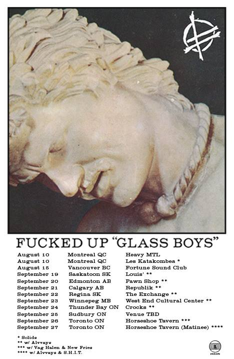Fucked Up, de gira