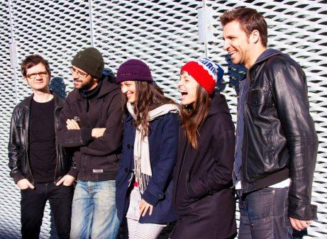 Imagen promocional de la banda, por Patricia Vázquez