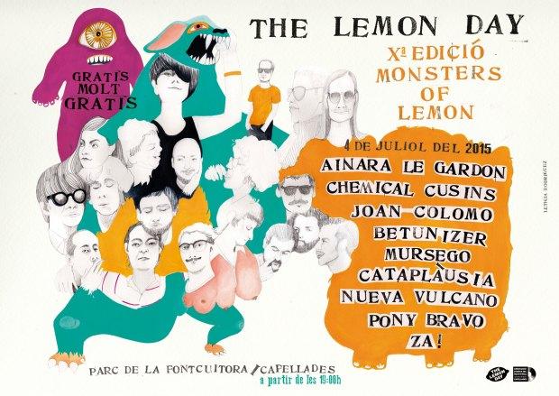 Cartel de la décima edición del Lemon Fest