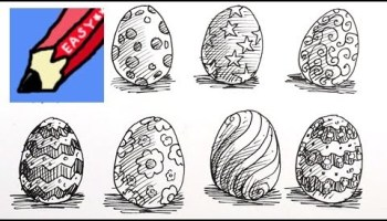 Three Easter Drawing Ideas