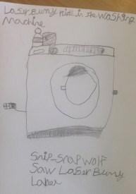 washing machine drawing