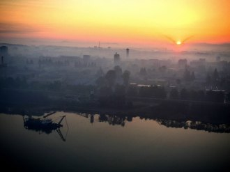North Korea Sunrise