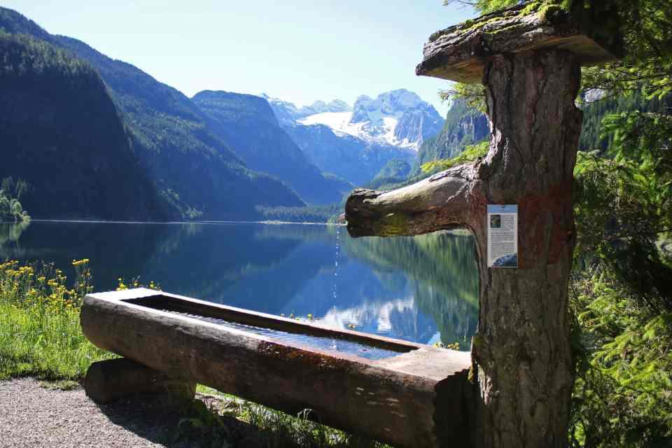 The beautiful Lake Gosau