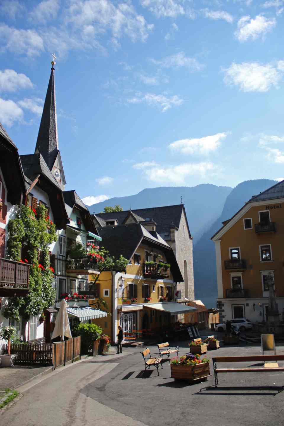 Hallstatt Village Square