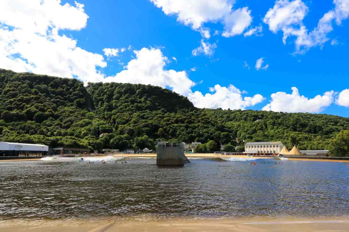 Surf Snowdonia's perfect setting