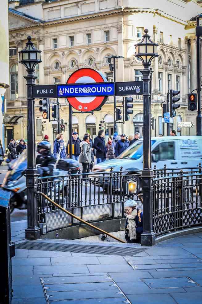 Piccadilly Circus Underground