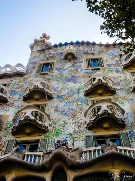 Gaudi's Casa Batllófacade