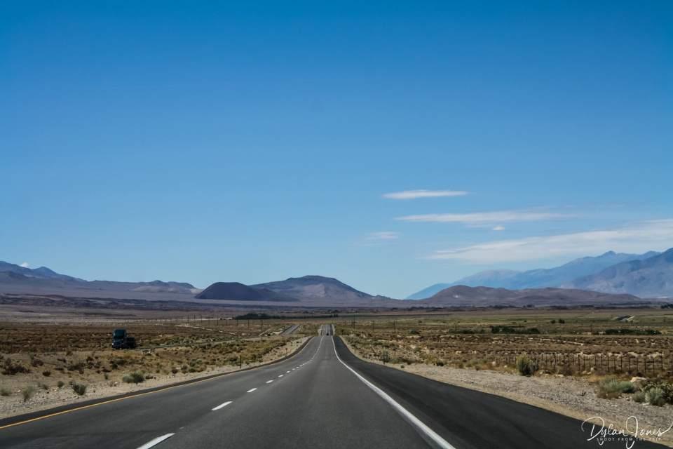 Eastern Sierra Desert Roads - The I395 through Owens Valley