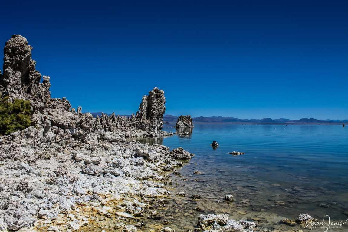Eastern Sierra shoreline of Mono Lake